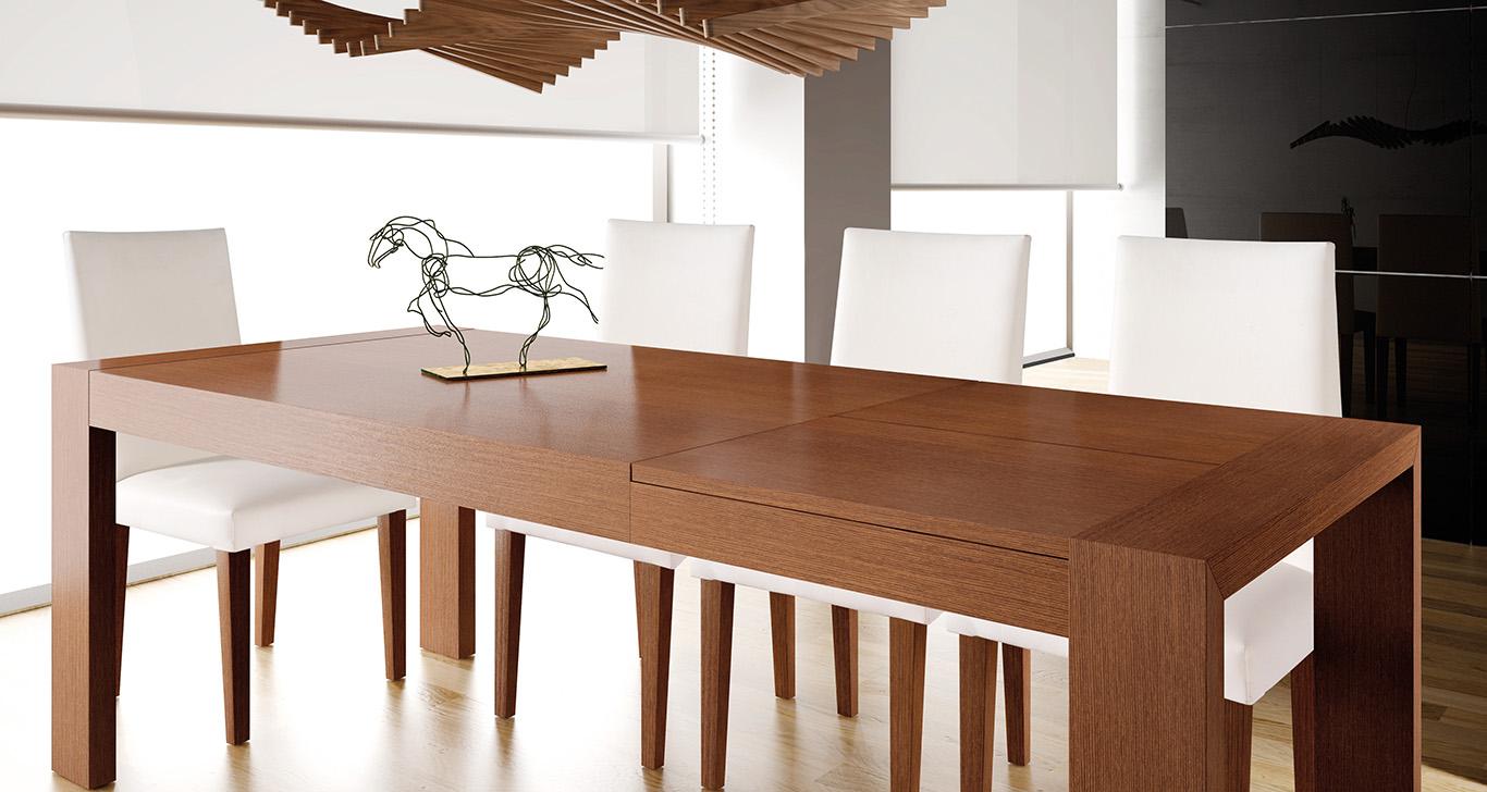 Mesas de comedor contemporáneas